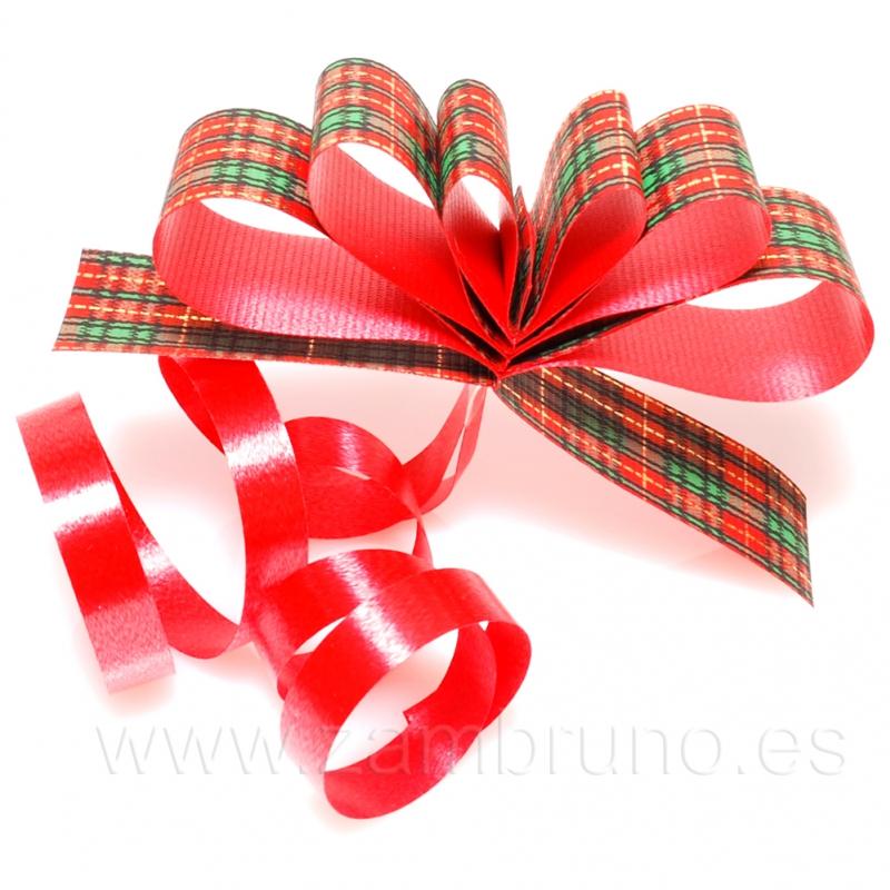 Cinta regalo escoces - Cinta para regalo ...