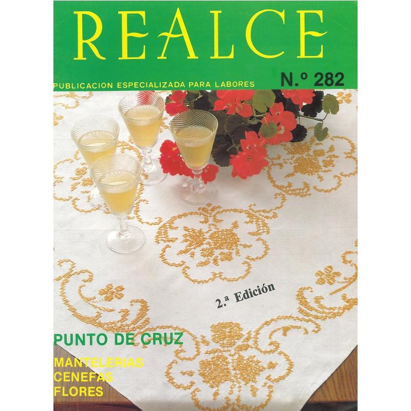 Revista Punto Cruz Manteles R282